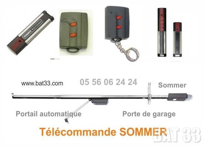 Porte de garage sommer trendy portes de garage with porte for Telecommande sommer porte de garage